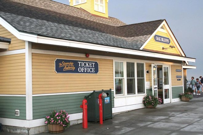 The Oak Bluffs ticket office will open Sunday.